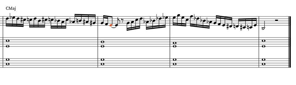 How to enrich improvisations on the violin using chromaticism