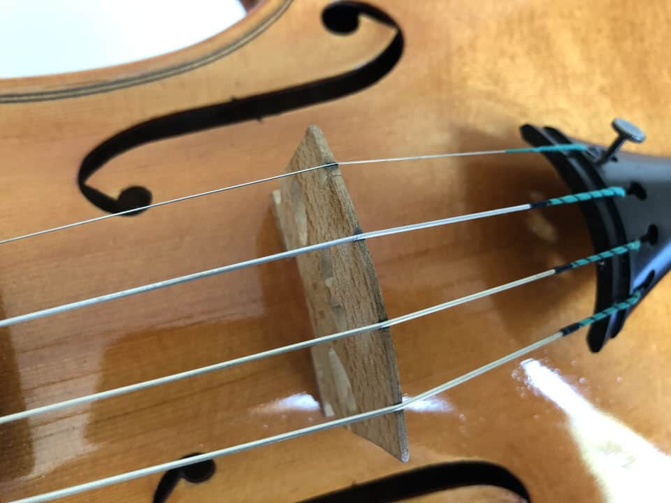 How often to change strings on a violin or viola