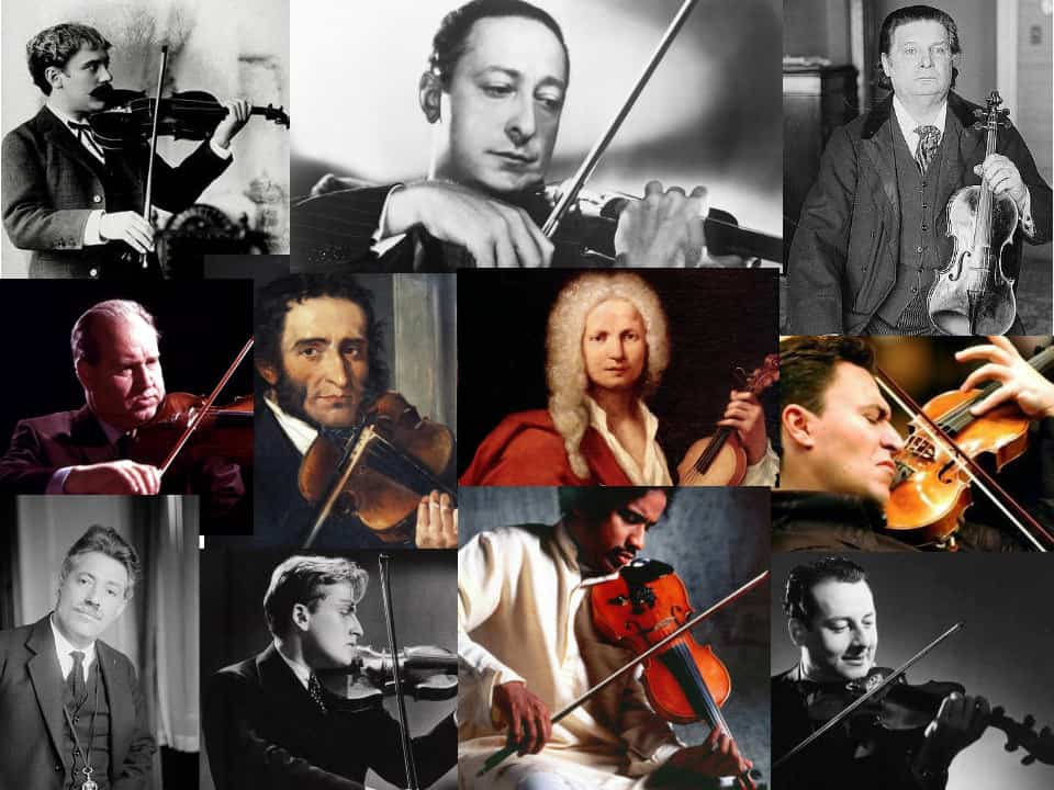 TOP 11 BEST VIOLINISTS OF ALL TIME